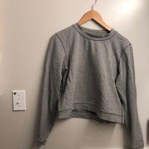 🔮2 for $100🔮Lululemon grey cropped sweatshirt